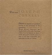 Cover of: Visits With Joseph Cornell
