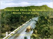 Cover of: Streetcar Days in Honolulu