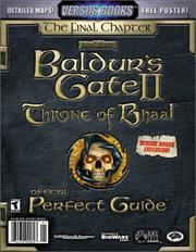 Cover of: Versus Books Official Baldurs Gate II