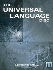 Cover of: The Universal Language DISC