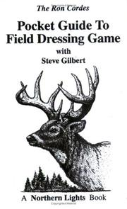 Cover of: Pocket Guide to Field Dressing Game