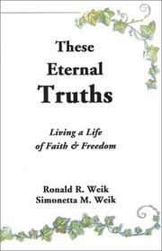 Cover of: These Eternal Truths