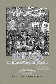 Cover of: ARES Miniatures Wargaming System