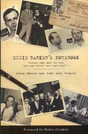 Cover of: Eddie Barker's Notebook