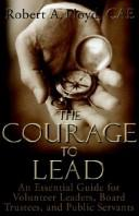 Cover of: The Courage to Lead