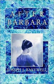 Cover of: After Barbara