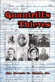 Cover of: Quantrill's Thieves