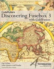Cover of: Discovering Fusebox 3 with ColdFusion