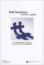 Cover of: SLM Solutions