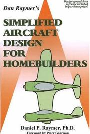Cover of: Simplified Aircraft Design for Homebuilders