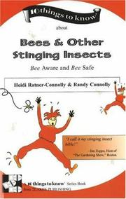 Cover of: Bees & Other Stinging Insects