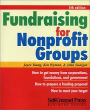 Cover of: Fundraising for Nonprofit Groups (Self-Counsel Reference Series)