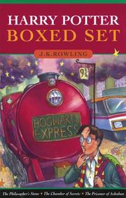 Cover of: Harry Potter [Books 1-3]