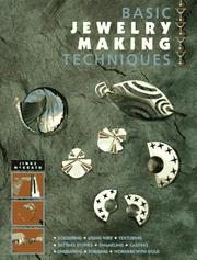 Cover of: Basic Jewelry Making Techniques