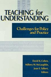 Cover of: Teaching for Understanding