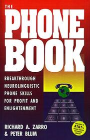 Cover of: The Phone Book