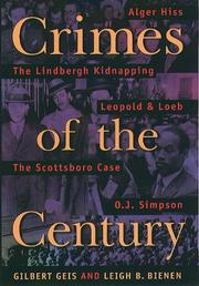 Cover of: Crimes of the Century