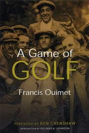 Cover of: A Game of Golf (The Sportstown Series)