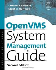 Cover of: OpenVMS System Management Guide (HP Technologies)