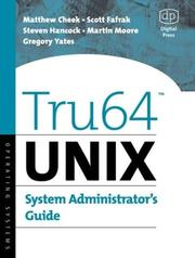 Cover of: Tru64 Unix System Administrator's Guide (HP Technologies)
