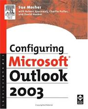 Cover of: Configuring Microsoft Outlook 2003