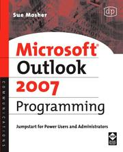 Cover of: Microsoft Outlook 2007 Programming