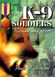Cover of: K-9 Soldiers