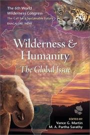 Cover of: Wilderness & Humanity