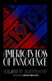 Cover of: 1919: America's Loss of Innocence