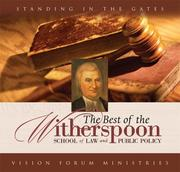 Cover of: Best of the Witherspoon School Audio Album (CD)