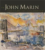 Cover of: The John Marin Collection of the Colby College Museum of Art