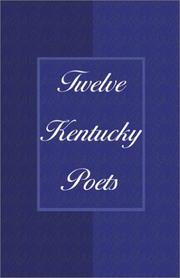 Cover of: Twelve Kentucky Poets