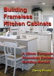 Cover of: Building Frameless Kitchen Cabinets