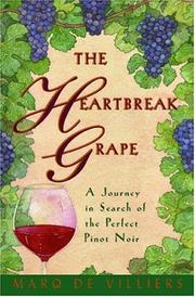 Cover of: The Heartbreak Grape