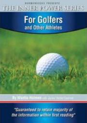 Cover of: For Golfers and Other Athletes