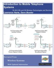 Cover of: Introduction to Mobile Telephone Systems