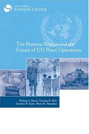 Cover of: The Brahimi Report and the Future of UN Peace Operations