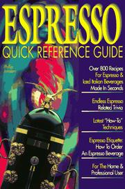 Cover of: Espresso quick reference guide