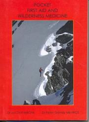 Cover of: Pocket First Aid and Wilderness Medicine