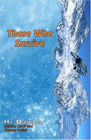 Cover of: Those Who Survive