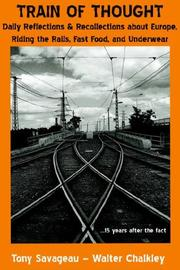 Cover of: Train of Thought