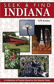 Cover of: Seek and Find Indiana