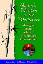 Cover of: Nature's Wisdom in the Workplace