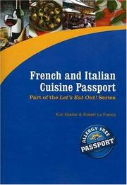 Cover of: French and Italian Cuisine Passport (Let's Eat Out!)