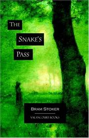 Cover of: The Snake's Pass
