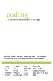 Cover of: Coding