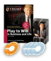 Cover of: Play to Win in Business and Life (Audio Business Course)