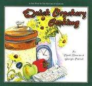 Cover of: Quick Crockery Cooking (One Foot in the Kitchen) (One Foot in the Kitchen)