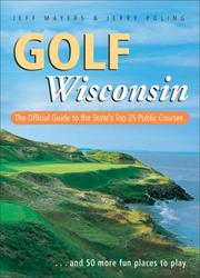 Cover of: Golf Wisconsin