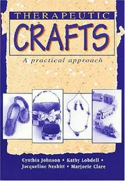 Cover of: Therapeutic Crafts